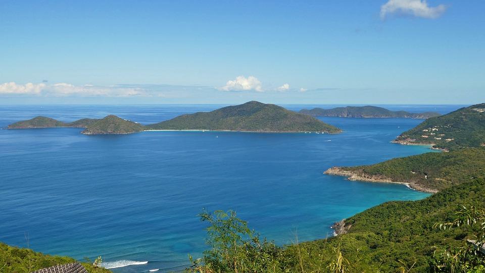 Caribbean, British Virgin Islands, Tortola, Sea, Water