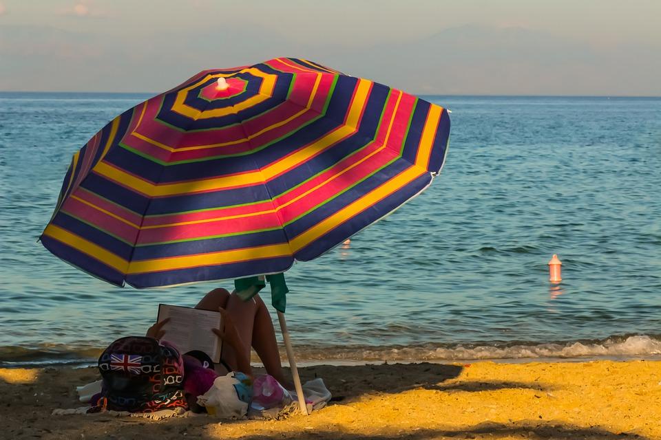 Beach, Parasol, Caribbean, Vacation, Umbrella, Chair