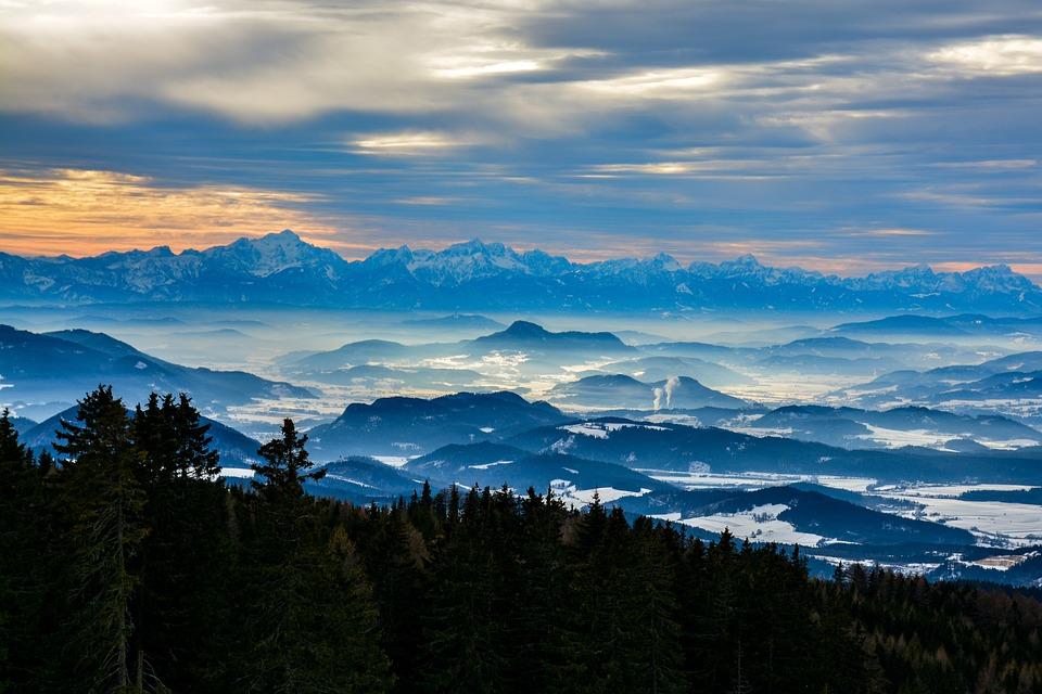 Görtschitztal, Carinthia, Landscape, Austria, Mountains