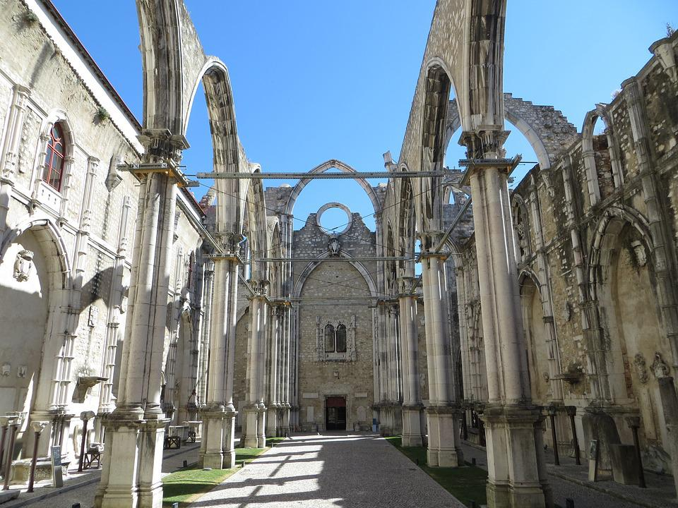 Carmo Convent, Carmo, Convent, Lisbon, City Centre