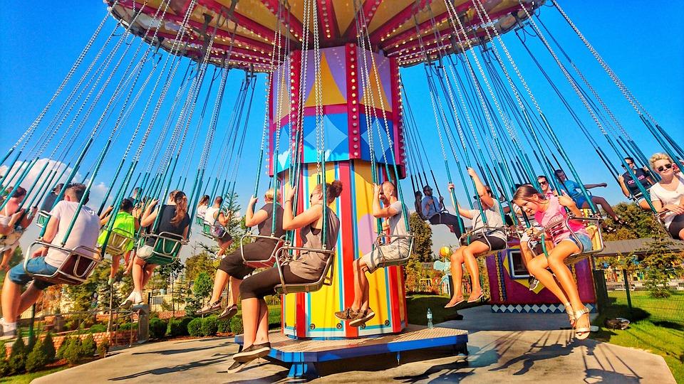 free photo carnival entertainment carousel color children max pixel