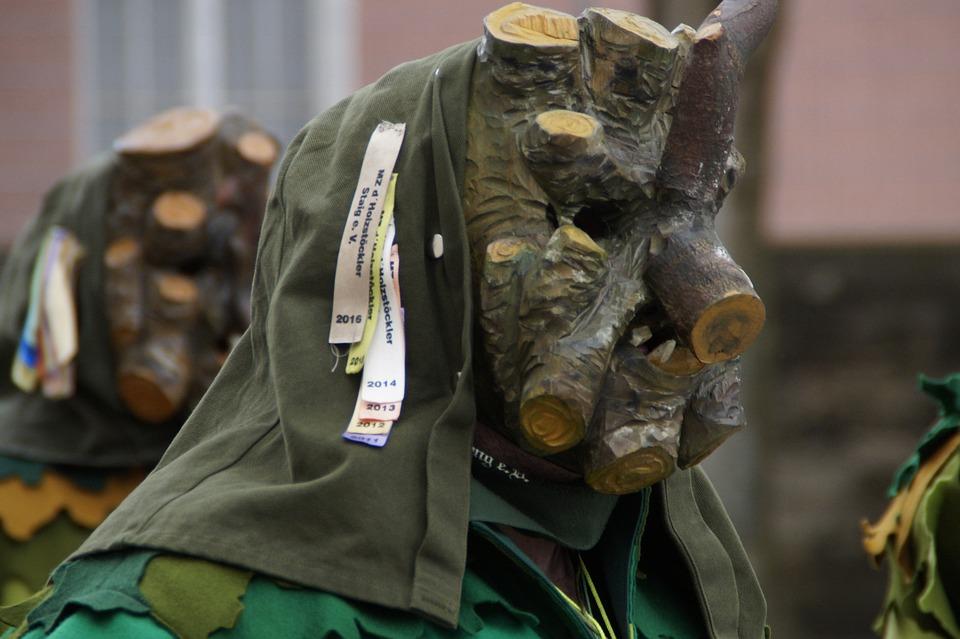 Wood Stock, Branch, Fig, Fool, Haestraeger, Carnival
