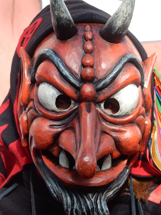 Mask, Face, Art, Masquerade, Devil, Carnival