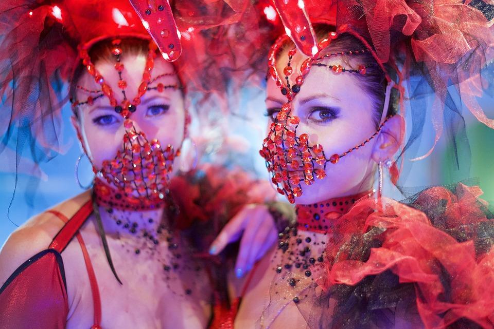 Girl, Carnival, Party, Woman, Mask, Fun, Female