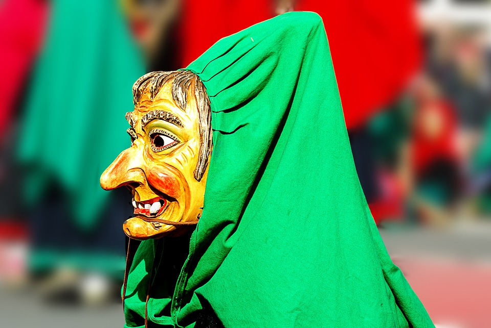 Carnival, The Witch, Mask, Colorful, Costume, Panel