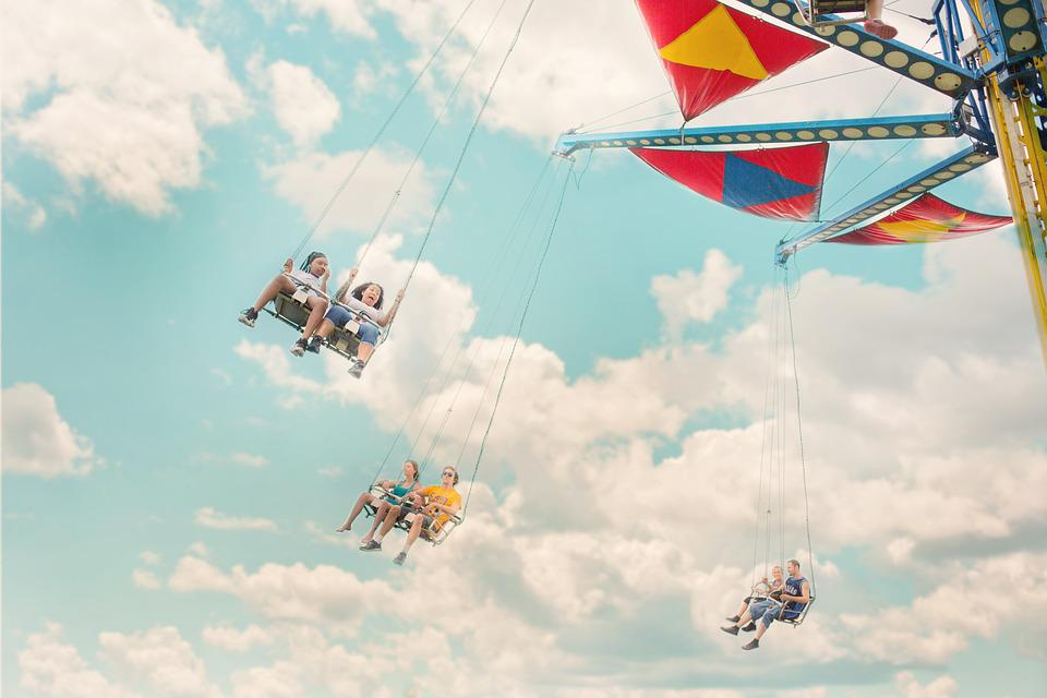 Amusement, Park, Ride, Carnival, Entertainment, Summer