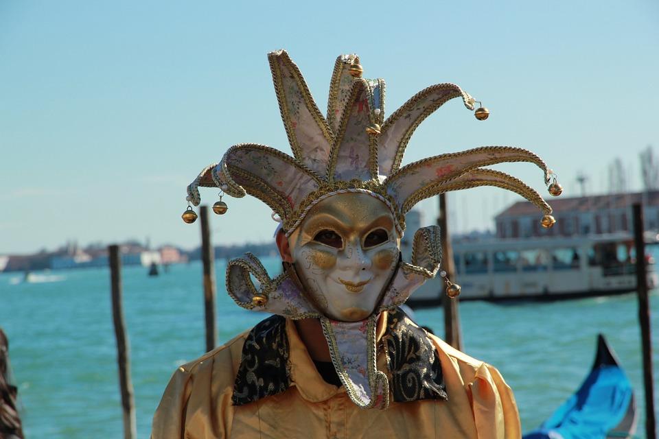 Carnival, Harlequin, Venezia