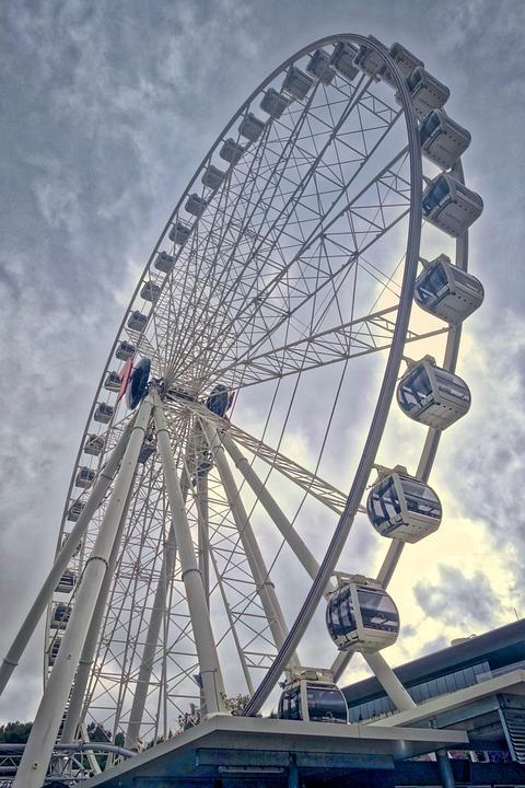 Ferris, Wheel, Attraction, Amusement, Ride, Carnival