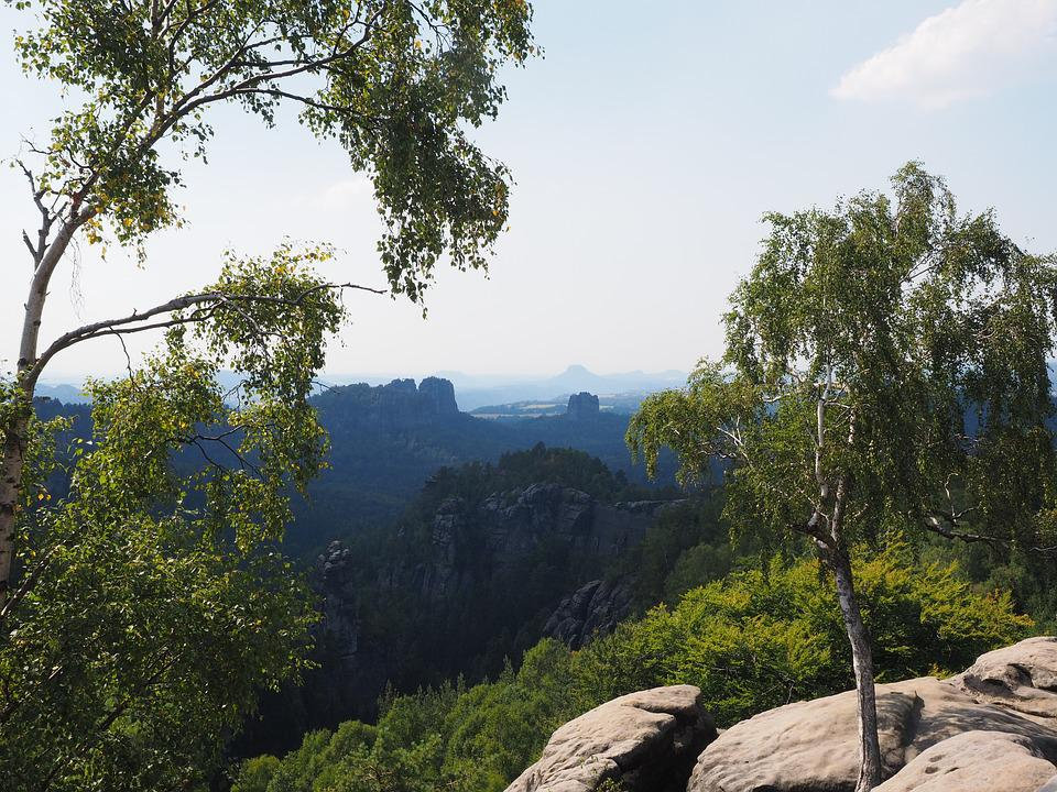 Carola Rocks, Elbe Sandstone, Hike