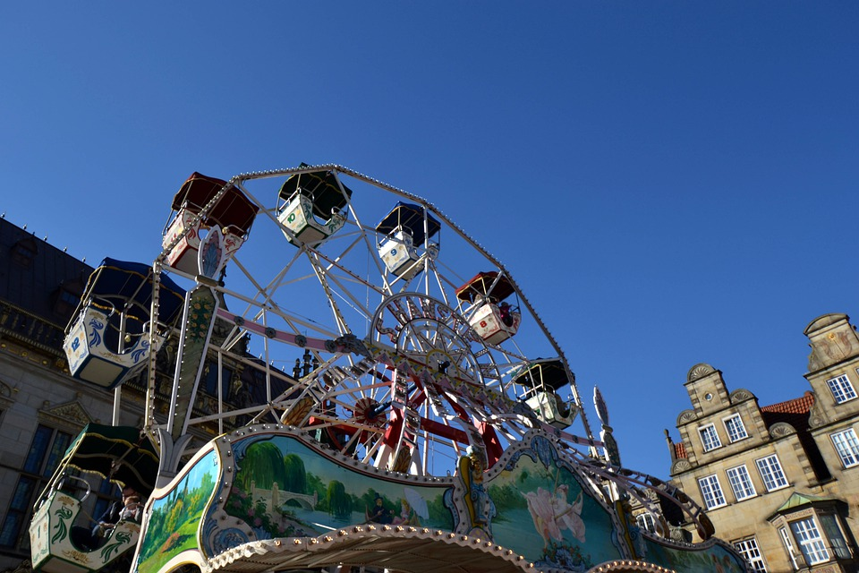 National Fixed, Fair, Carousel, Fun, Year Market
