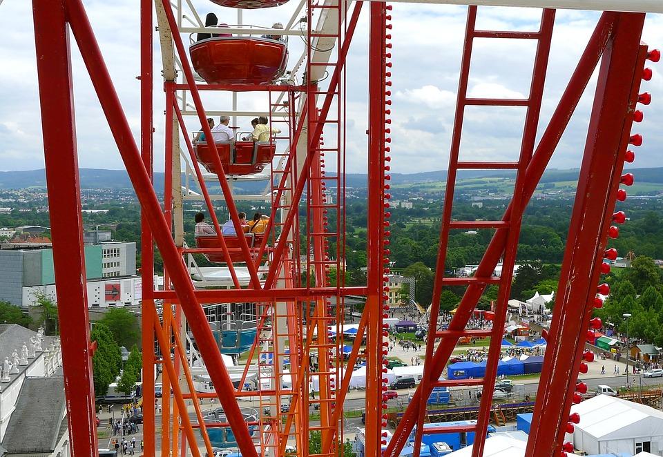 Folk Festival, Ferris Wheel, Carousel, Hessian, Kassel