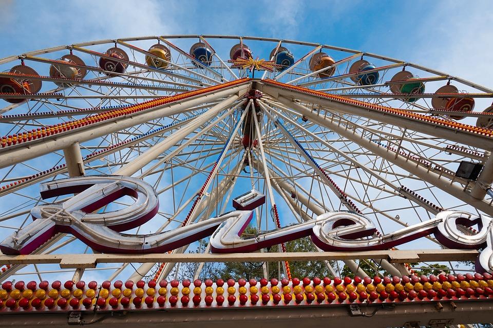 Ferris Wheel, Year Market, Attraction, Ride, Carousel