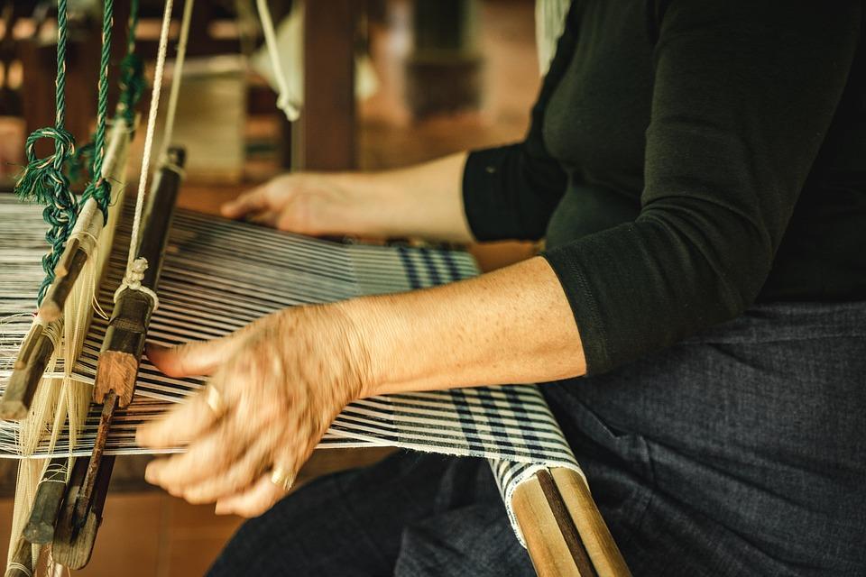 Weaving, Hand, Carpet, Loom, Weave, Handmade, Old