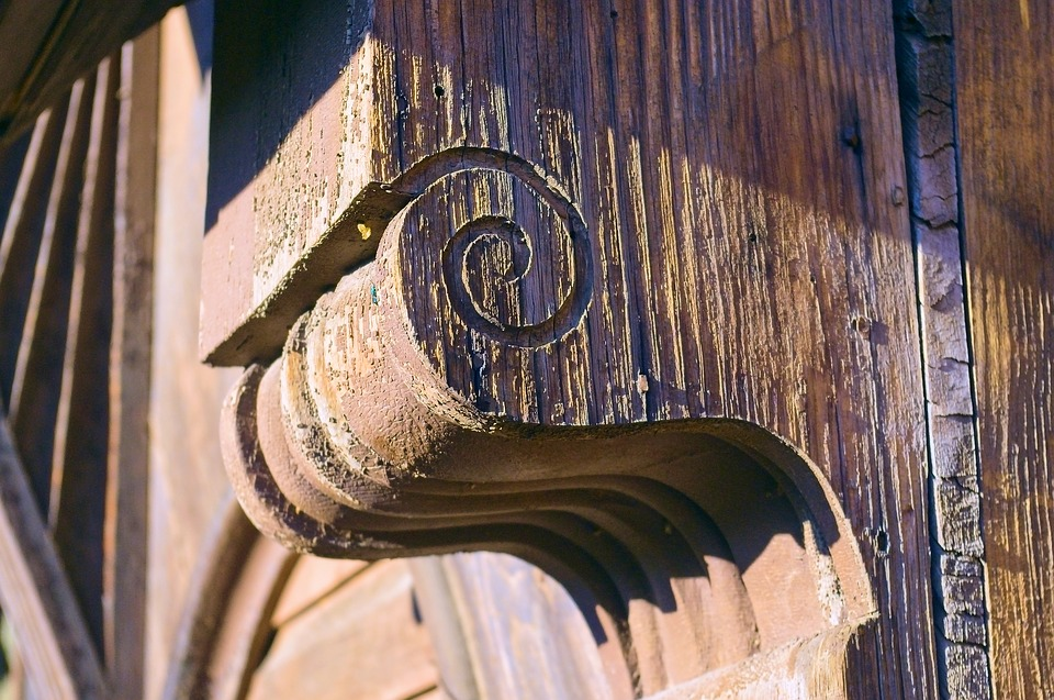 Carriage House Detail, Architecture, Pattern, Texture