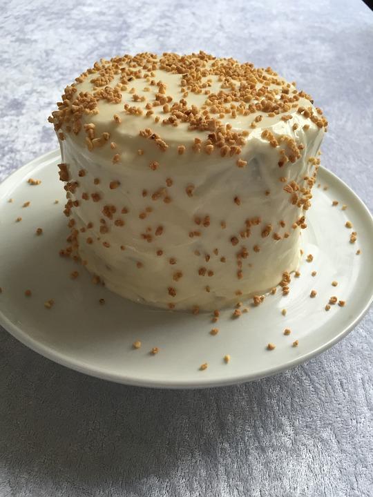 Cake, High, Carrot Cake