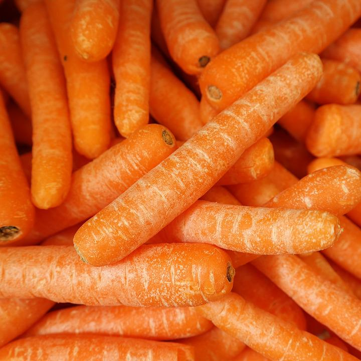 Carrots, Fresh, Vegetable, Healthy, Fresh Vegetables
