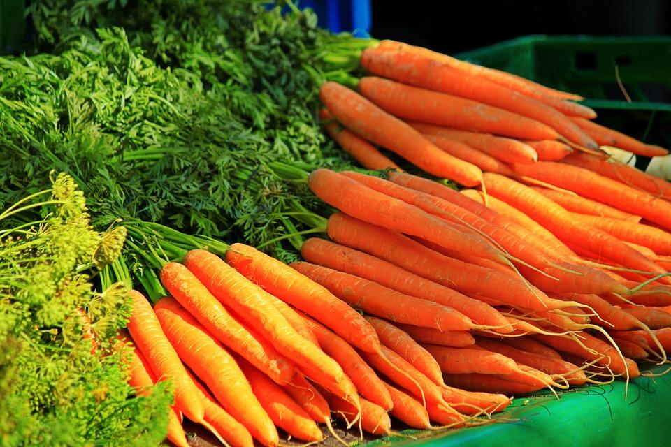 Carrots, Vegetables, Healthy, Root Vegetables, Vitamins