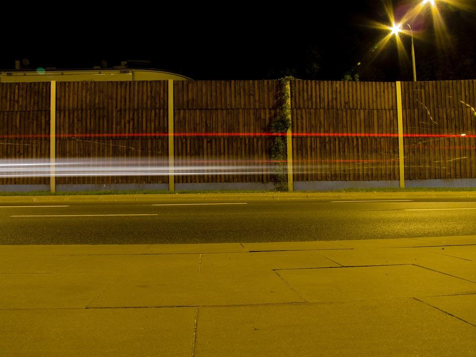 Light, Street, City, Cars, Long Exposure, Way, Night