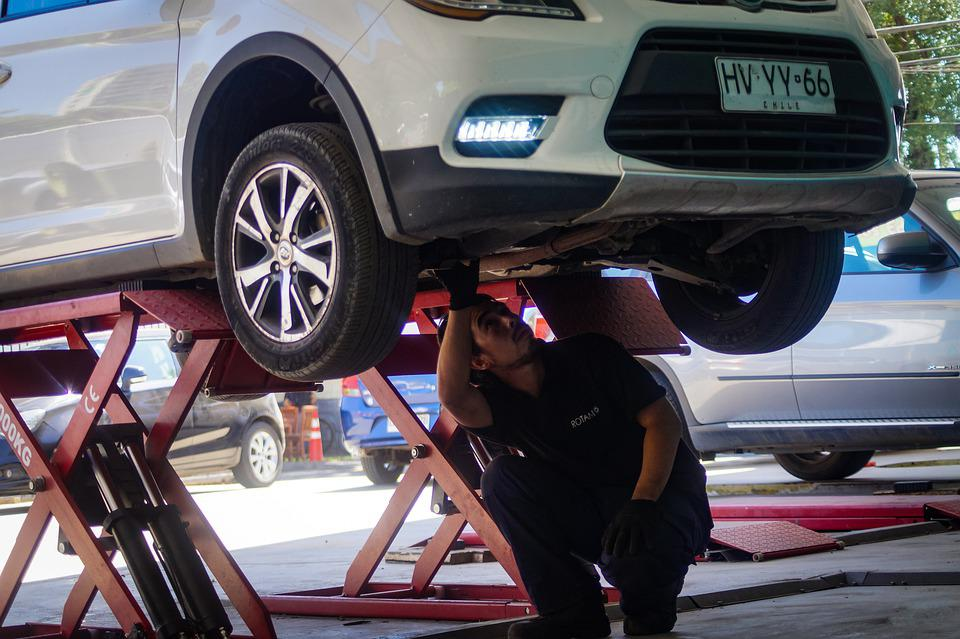 Cars, Garage, Camion, Mechanic, Vehicle, Auto