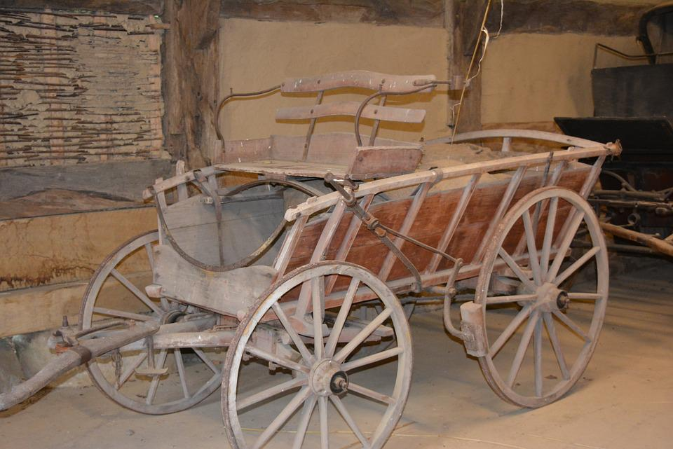Cart, Museum, Village, Open Air Museum, Dare, Coach