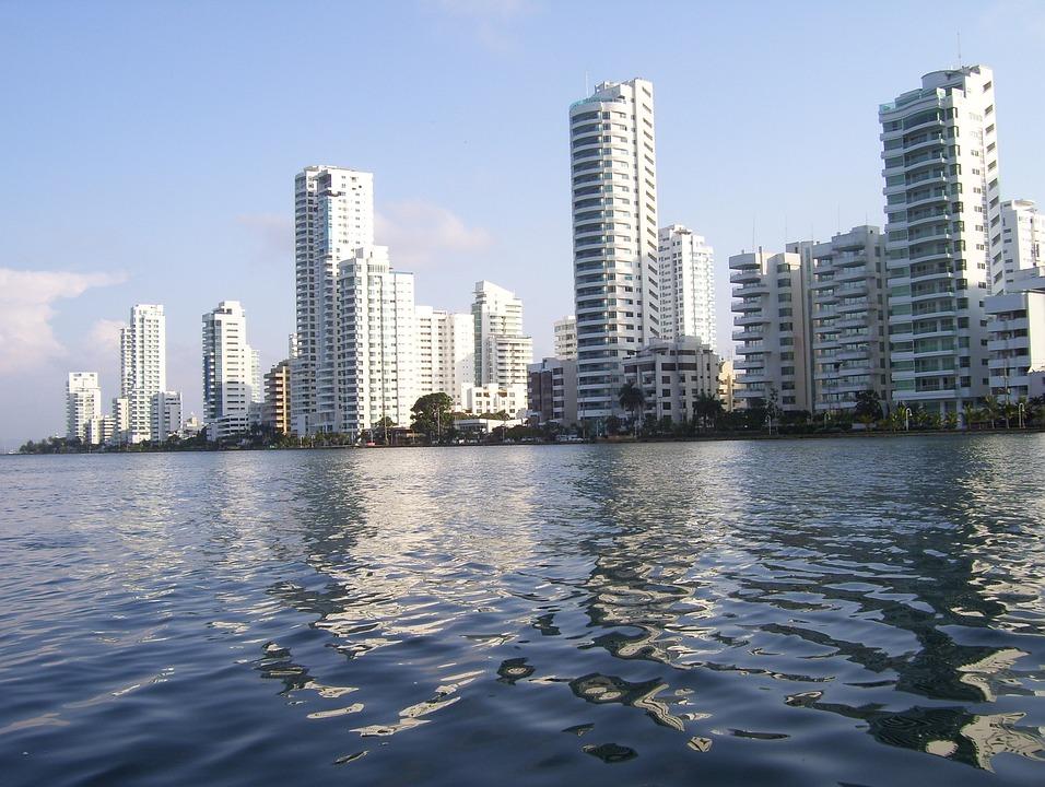 Cartagena, Colombia, Beach, Caribbean, Ocean, Sea
