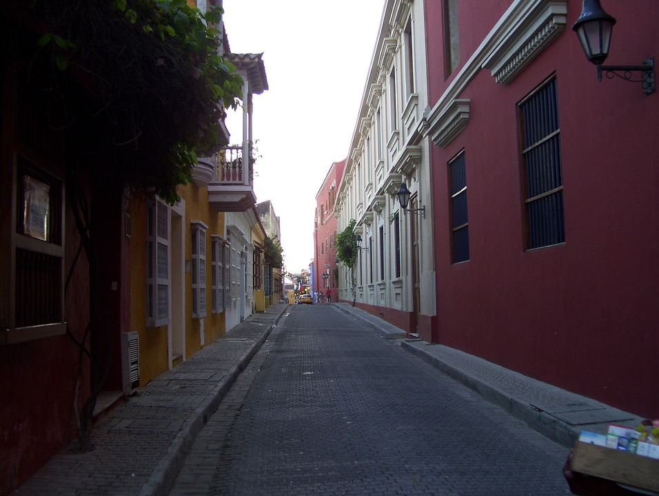 Cartagena, Colombia, Caribbean, Architecture, Building