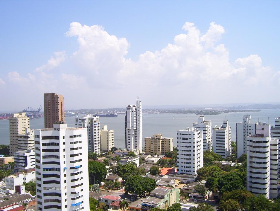 Cartagena, Colombia, Caribbean, Historical, Castle