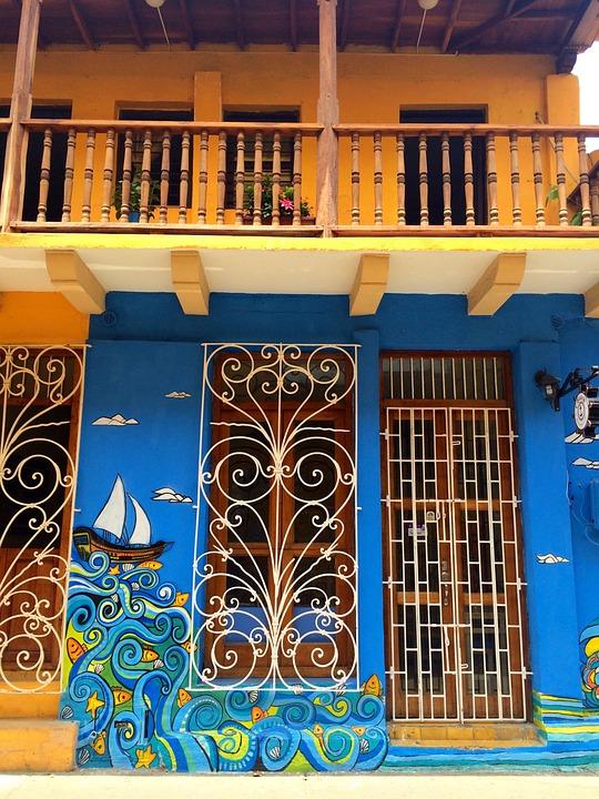 Cartagena, Colombia, Street Art, South America, City