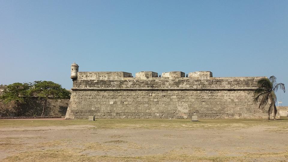 Wall, Cartagena, Indian