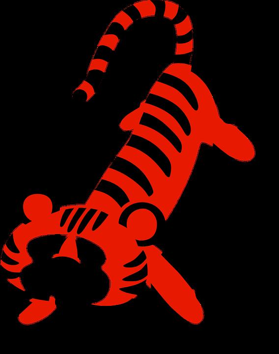 Animal, Cartoon, Cute, Tiger, Zoo