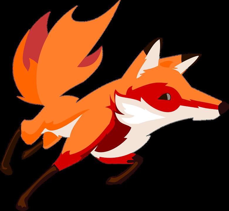Animal, Cartoon, Fox, Nature