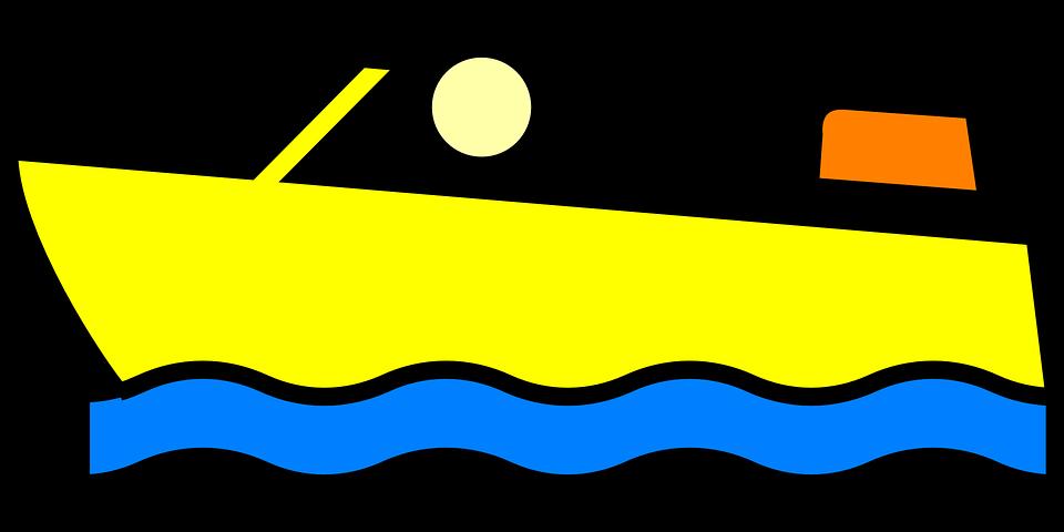 Motorboat, Speedboat, Boat, Ship, Cartoon, Vehicle