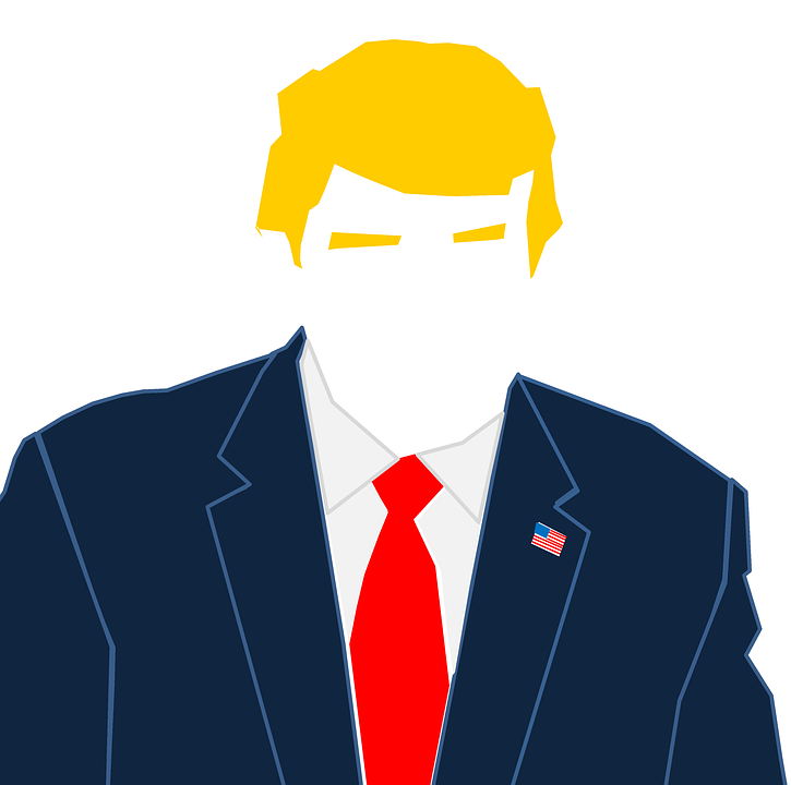 Trump, Donald Trump, President, Usa, Cartoon, Leader