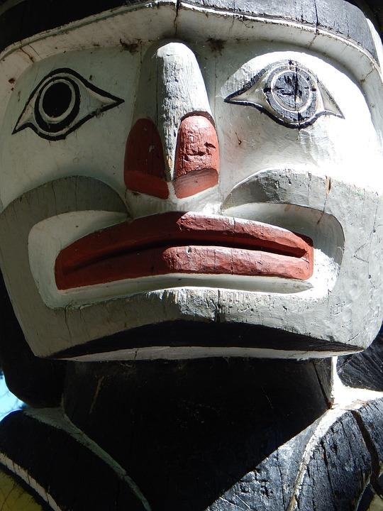 Totem Pole, Aboriginal, Art, Statue, Carving, Tribal