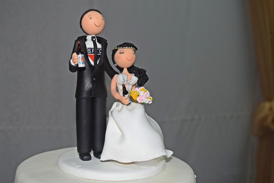 Grooms, Dolls, Marriage, Decoration, Casal