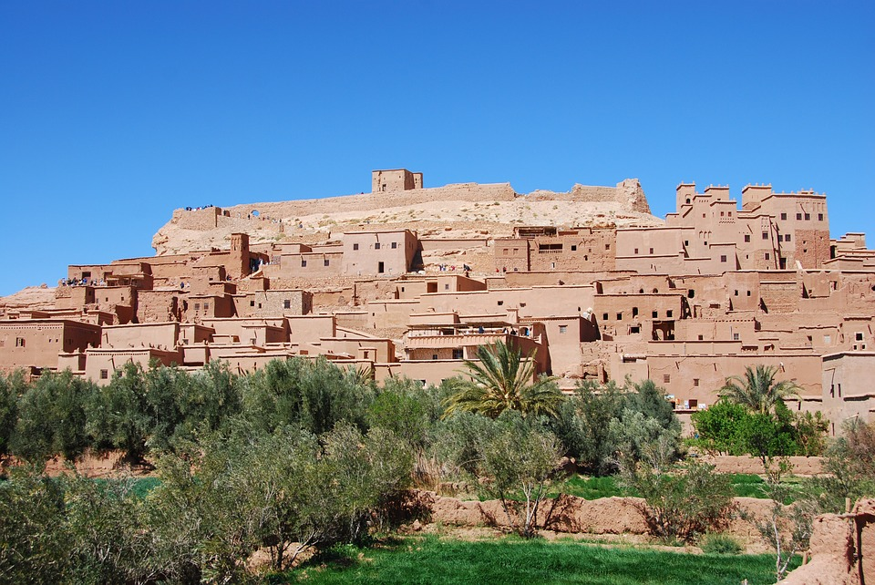 Ouarzazate, Casbah, Morocco, Africa, Old Town, Desert