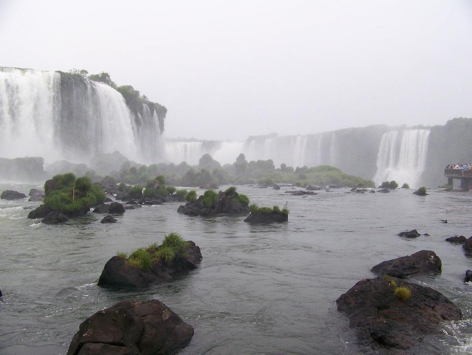Iguazu, Cascade Falls, Landscape