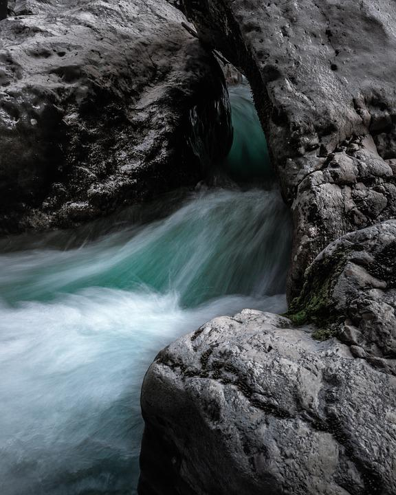 River, Stream, Rocks, Cascade, Creek, Water, Stones