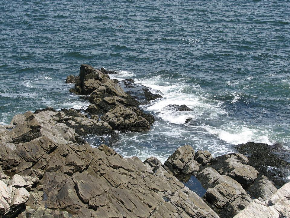 Casco Bay, Portland, Maine, Cape Elizabeth, Water