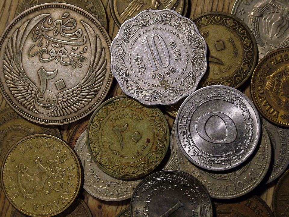 Coins, Old, Currency, Metal, Money, Cash, Specie