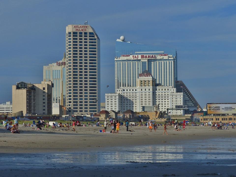 Atlantic, City, Ocean, Beach, Hotel, Casino, Vacation