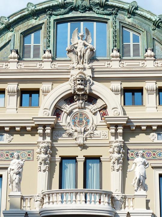 Game Bank, Casino, Facade, Monte Carlo, District