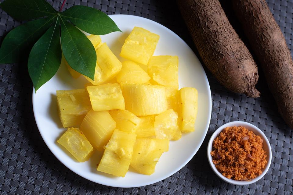 Breakfast, Cassava, Coconut, Manihot, Esculenta, Manioc