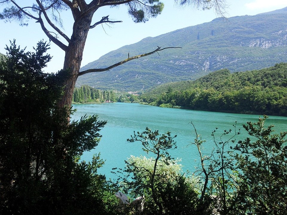 Castel, Toblino, Trentino, Italy, Magic