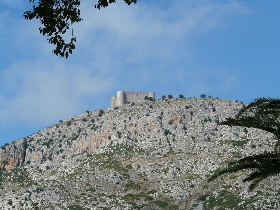 Castell Del Montgrí, Castle, Building, Burg Of Montgri