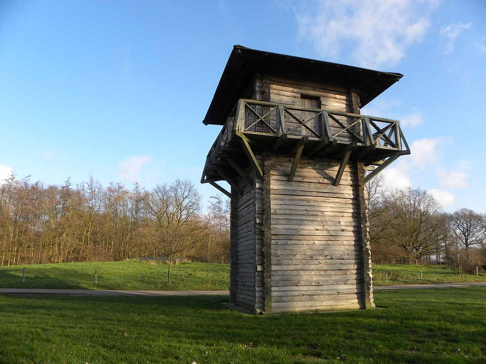 Romans, Watchtower, Fighting, Bunnik, Castellum, Wooden