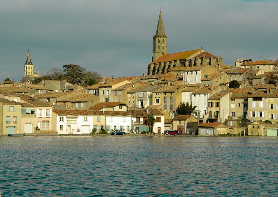 France, Castelnaudary, Church, Medieval Town