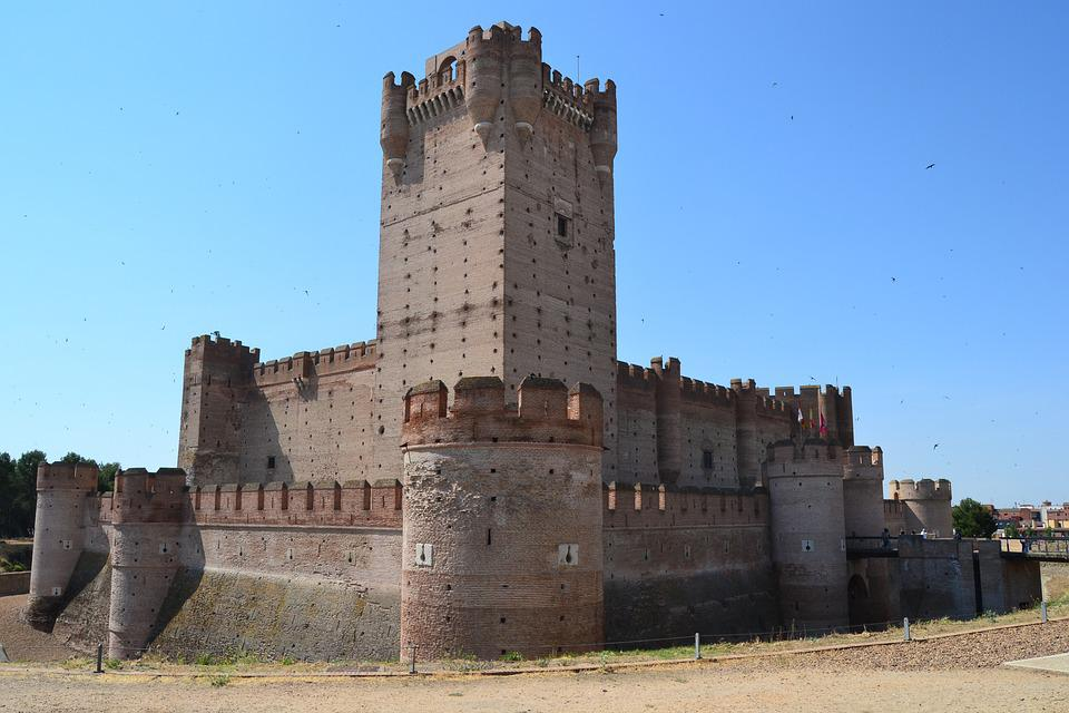 Castle, Tower, Architecture, Spain, Castilla