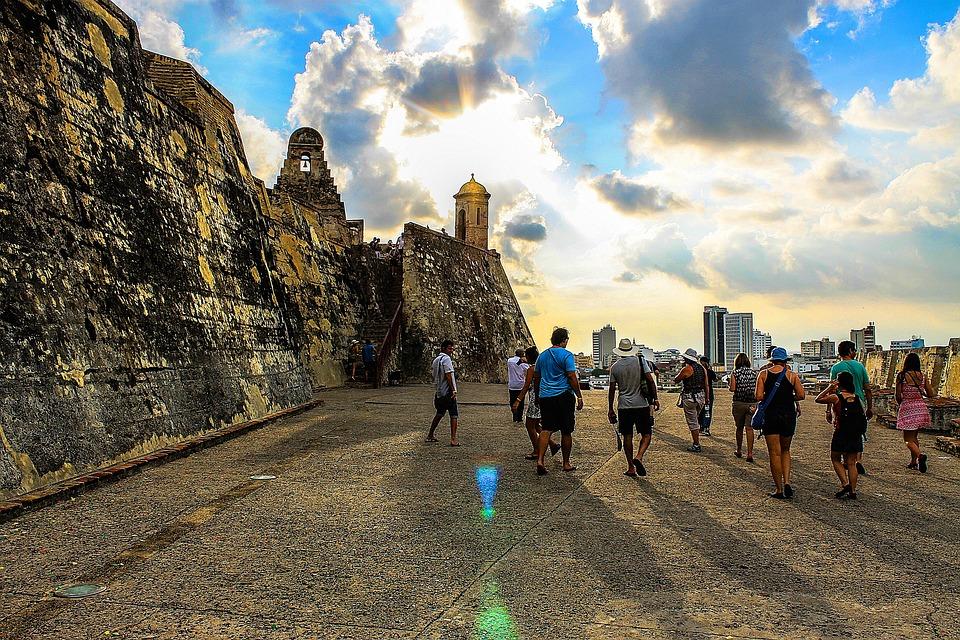 Castillo San Felipe De Barajas, People, Colombia, Rock