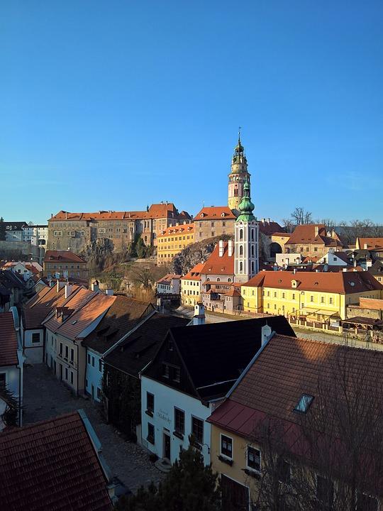 Krumlov, Castle, Bohemia, Unesco, Architecture, History